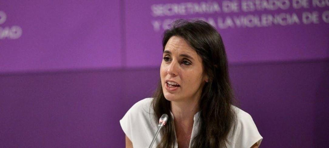 Irene Montero presume de una medida aprobada antes de la entrada de Podemos en el Gobierno