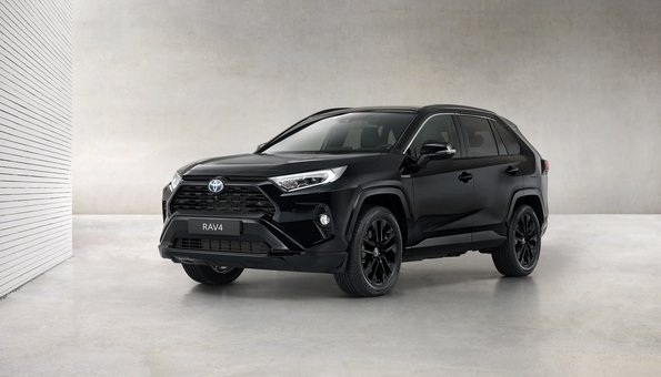 Nuevo Toyota RAV4 Electric Hybrid Black Edition