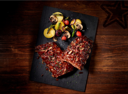 "Foster´s Hollywood presenta sus nuevas Costillas Ibéricas gourmet ""Black Label"""