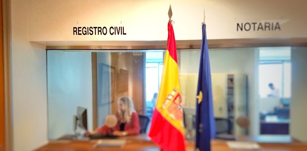 Registro Civil.