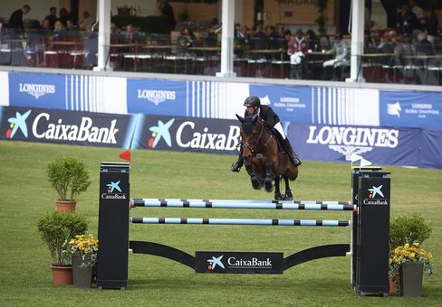 MADRID, SPAIN - MAY 17:  109 CSI 5 de Madrid / Longines Global Champions Tour 2019 and Global Champions League 2019 at Club de Campo Villa de Madrid on May 17, 2019 in Madrid, Spain. (Photo by Manuel Queimadelos / OxerSport)