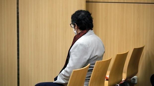 El acusado durante el juicio en la Audiencia de Valencia