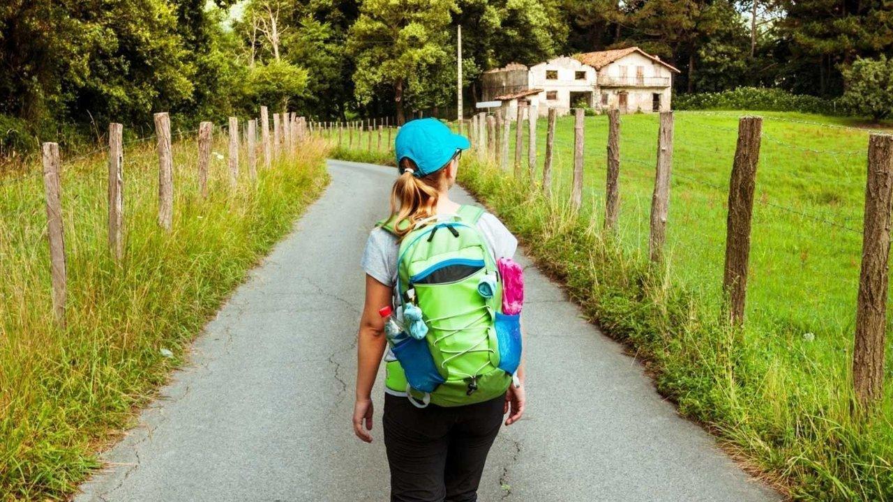 Una peregrina por el Camino de Santiago