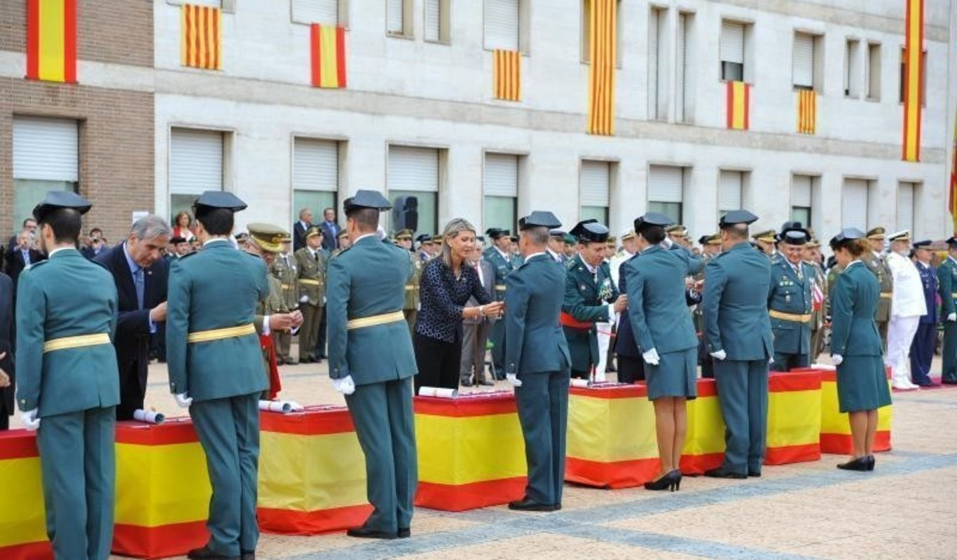 Acto de la Guardia Civil.