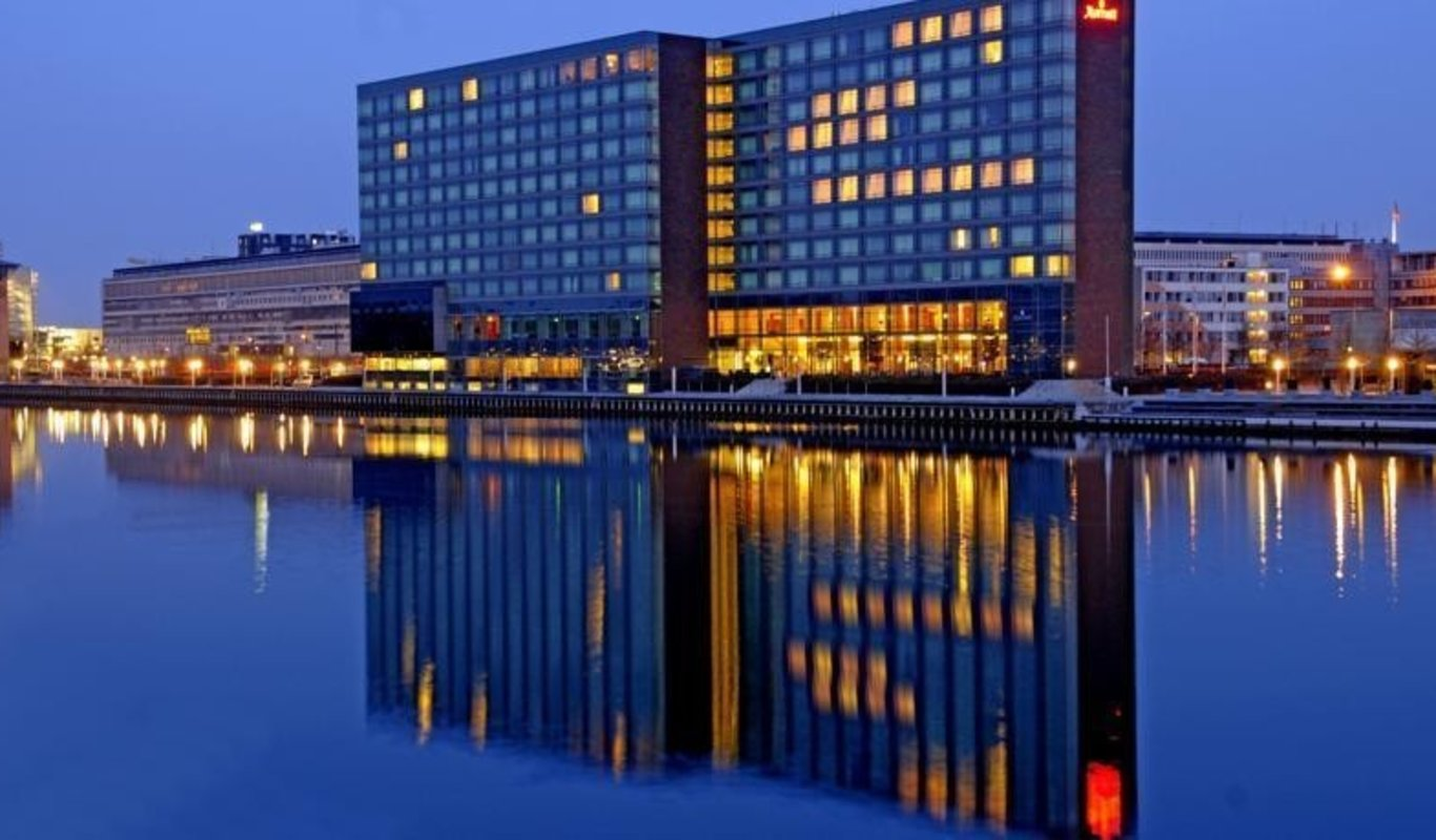 Hotel Marriot de Copenhague.