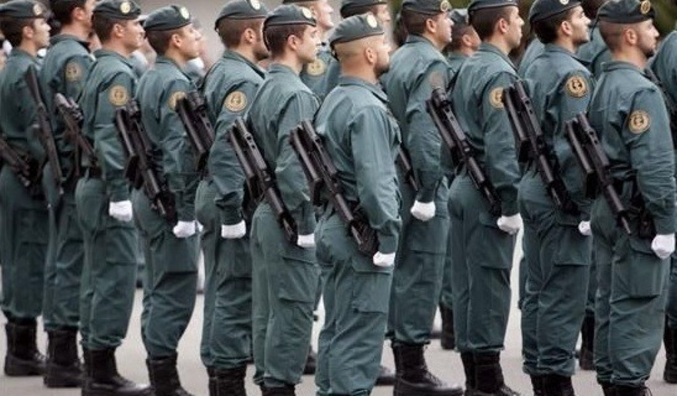 Grupo de Acción Rápida (GAR) de la Guardia Civil.