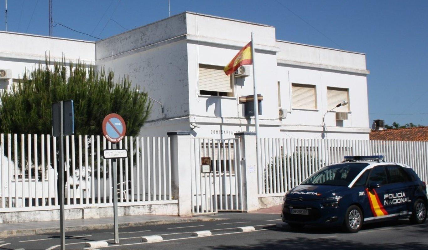 Comisaría de la Policía Nacional en Ayamonte (Huelva).
