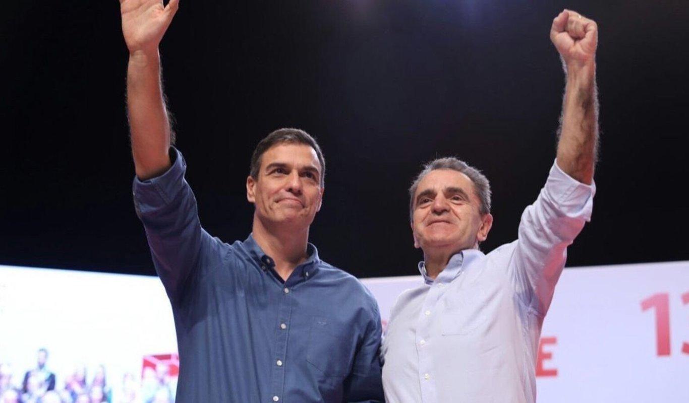 José Manuel Franco será número 3 de Pedro Sánchez en las generales