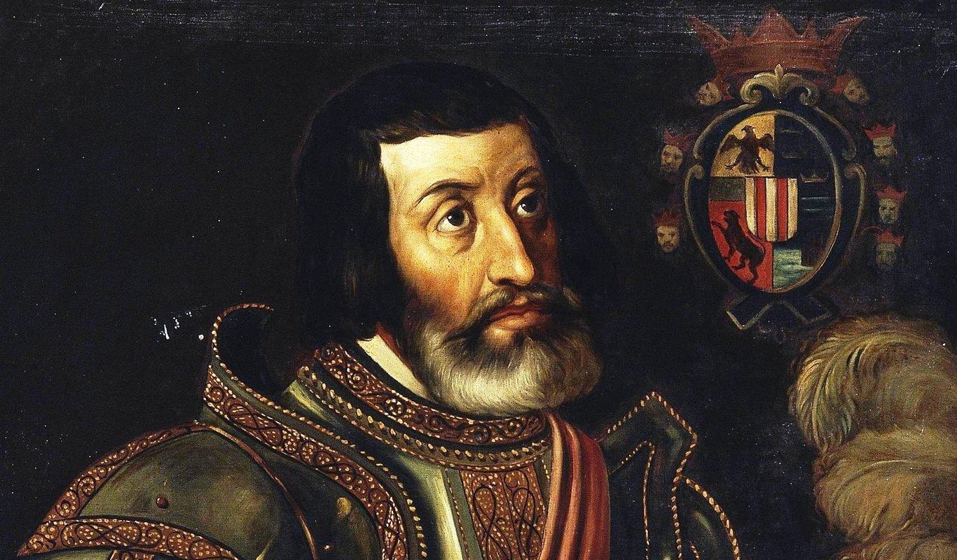 Hernán Cortés, conquistador de México.