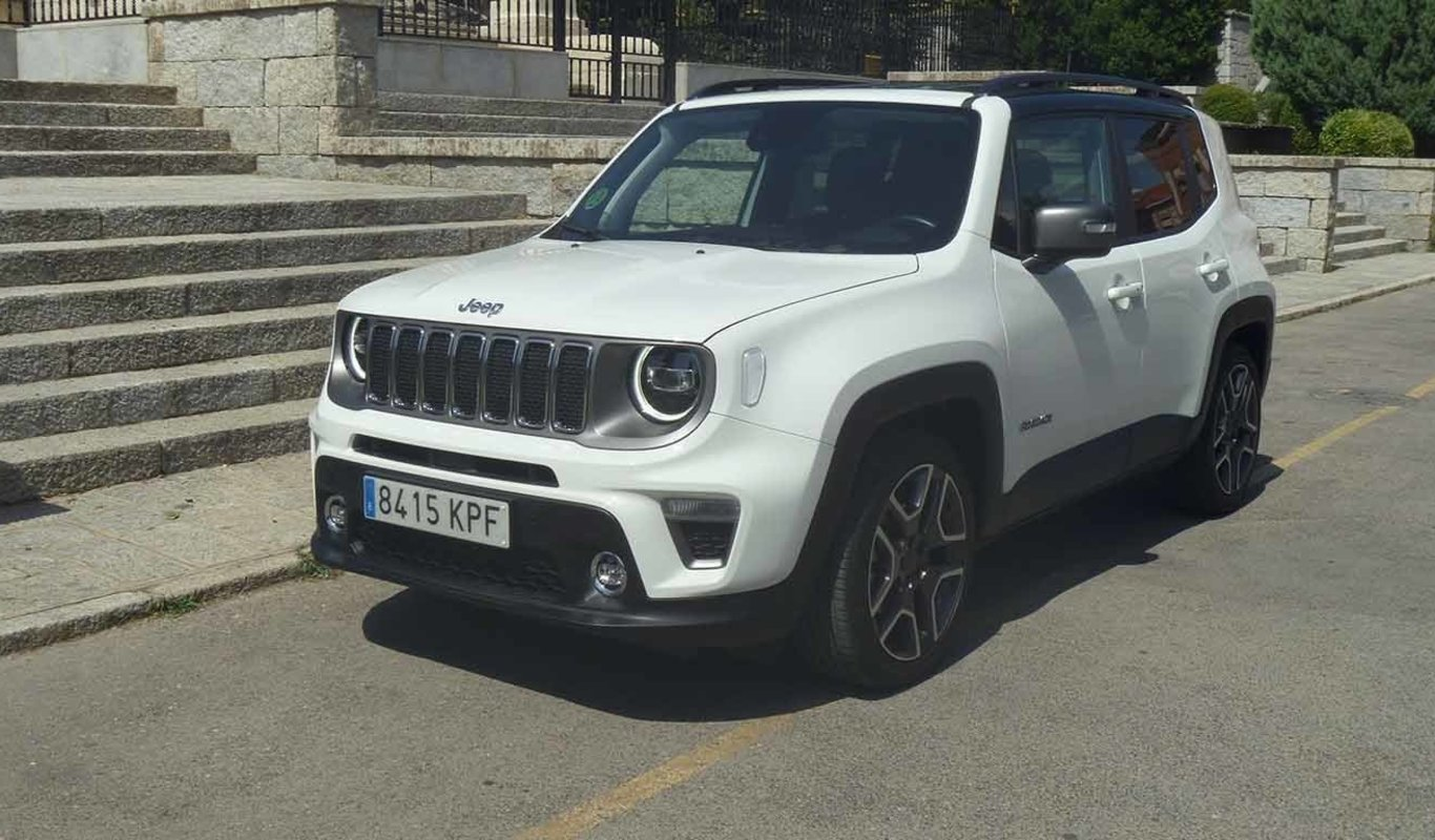 Frontal del Jeep Renegade 1.0T 4x2 Limited