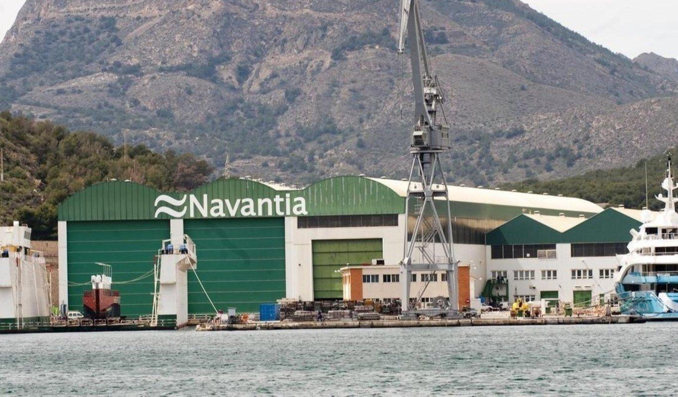 Instalaciones de Navantia.