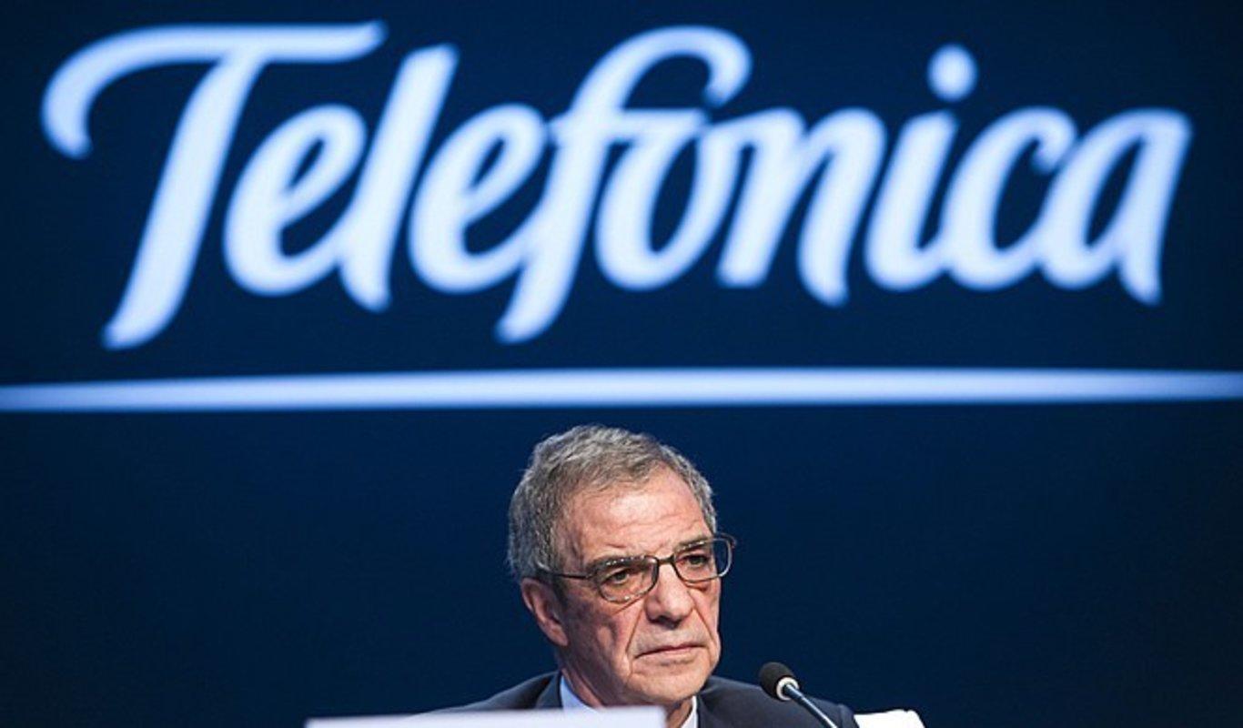 César Alierta, Presidente Ejecutivo de Telefónica S.A ...