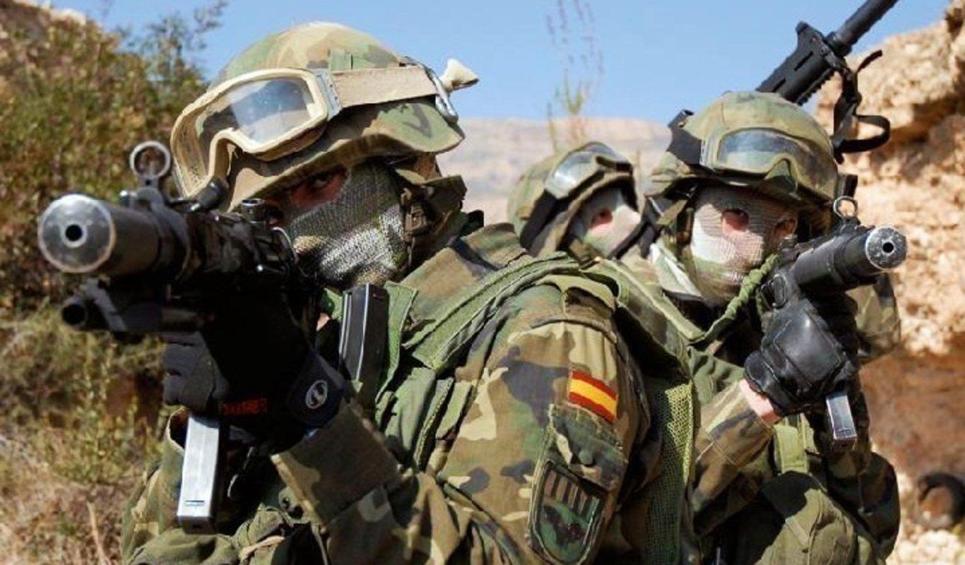 Boinas verdes del Grupo de Operaciones Especiales. f73e7436fc0
