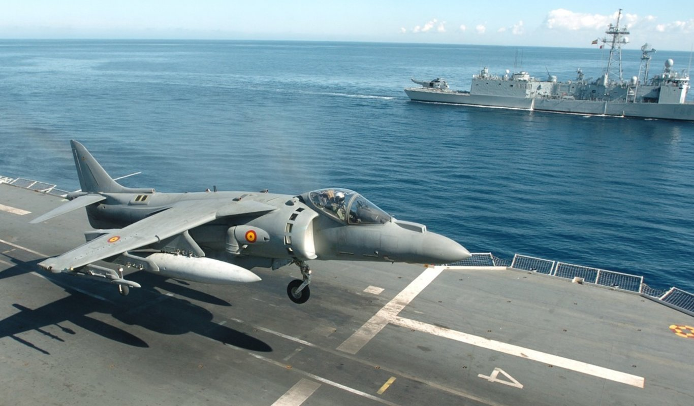 AV-8B Harrier II Plus.