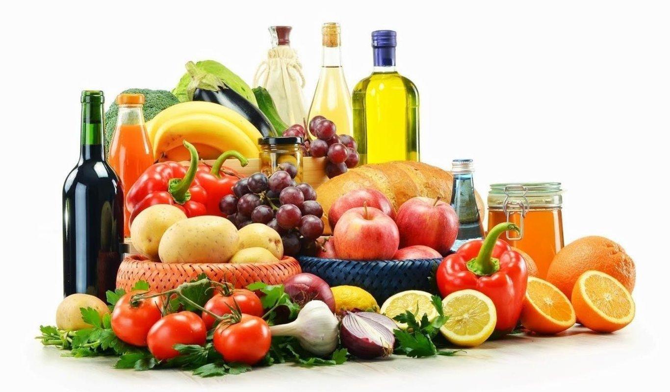 Alimentos de dieta mediterranea