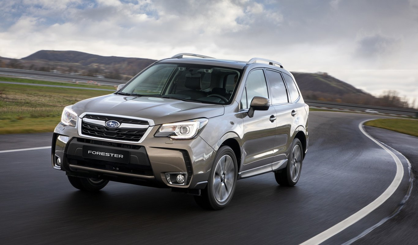 Vista Frontal Subaru Forester 2019