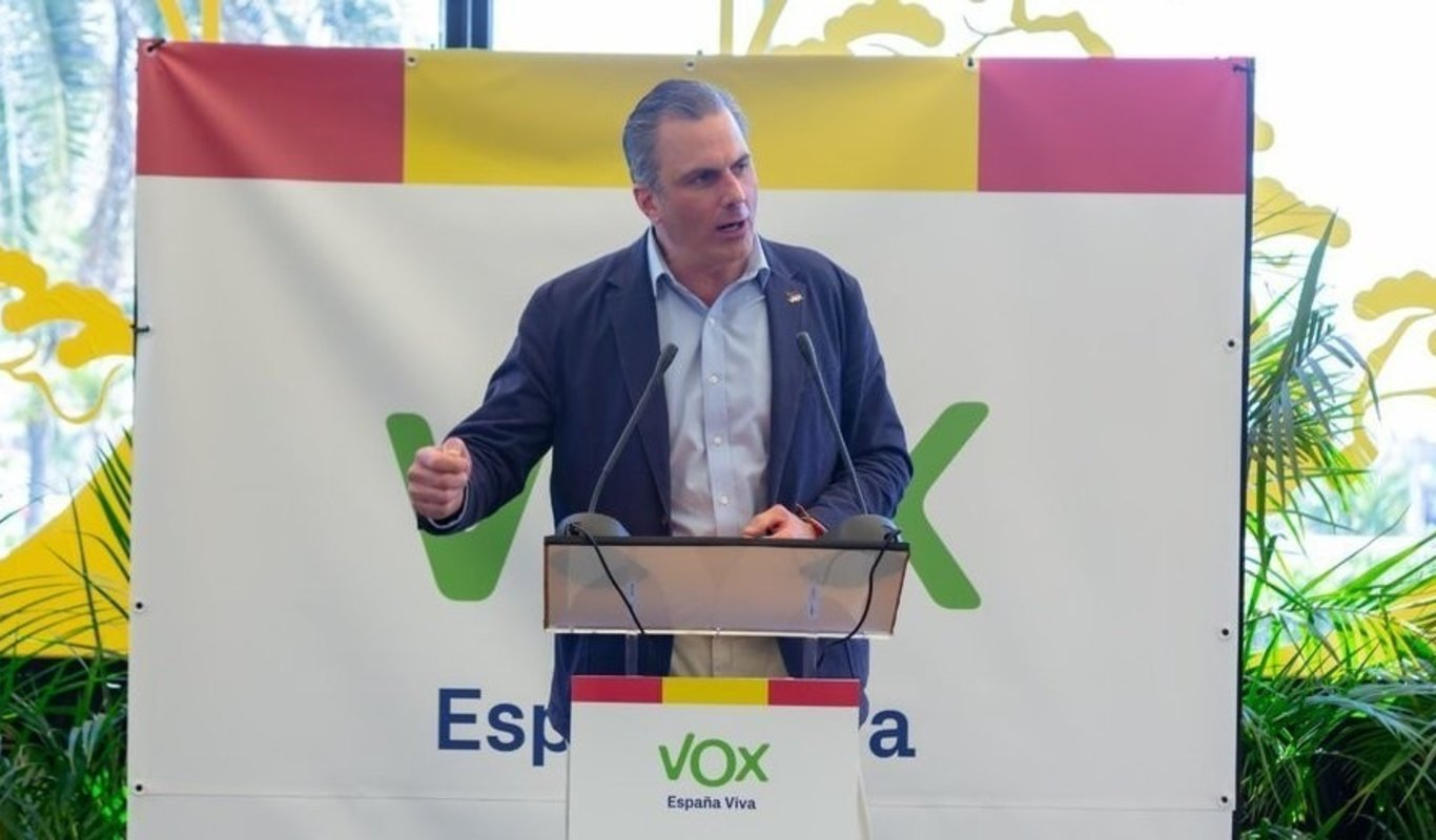 Javier Ortega Smith, secretario general de Vox.