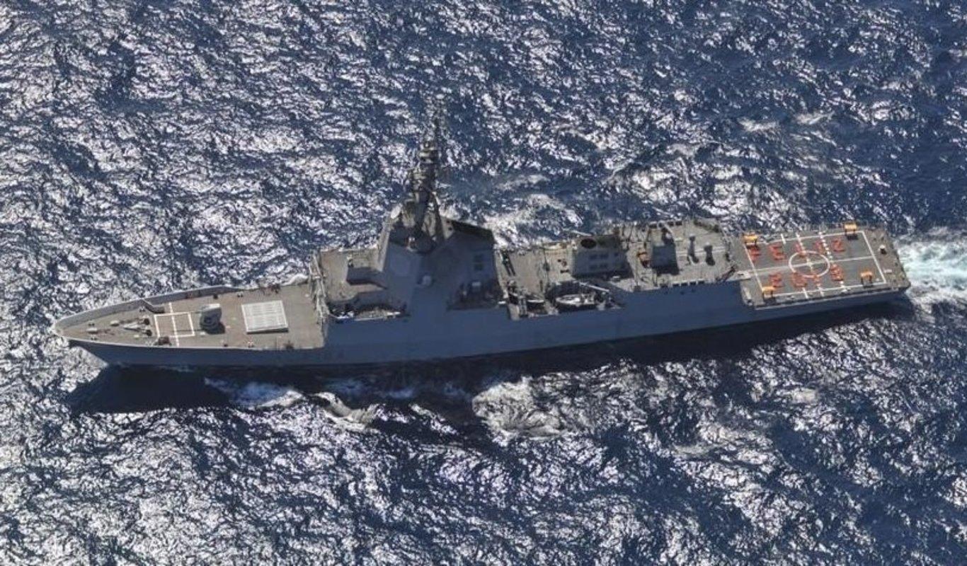 Fragata F-104 Méndez Núñez de la Armada española.