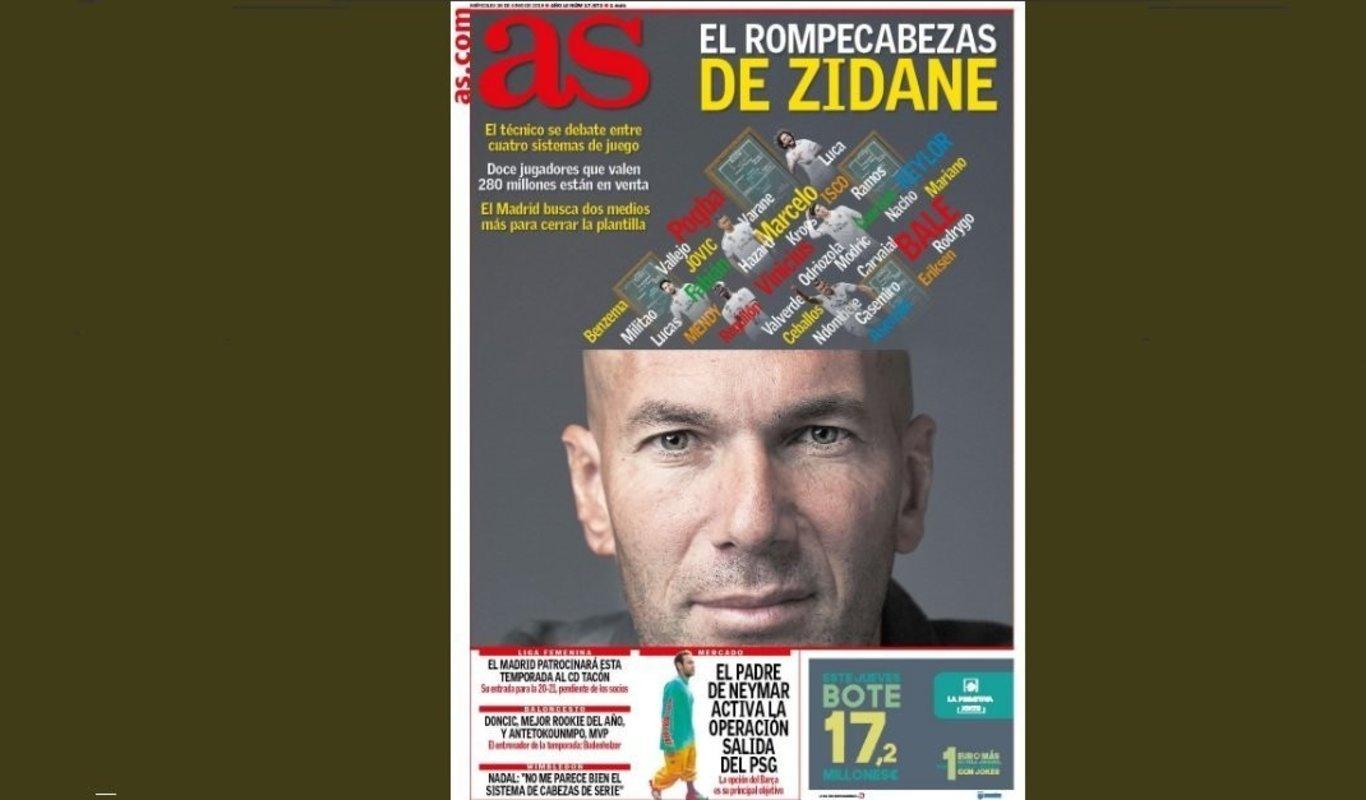 La revolución de Vicente Jiménez en el AS empieza por las portadas
