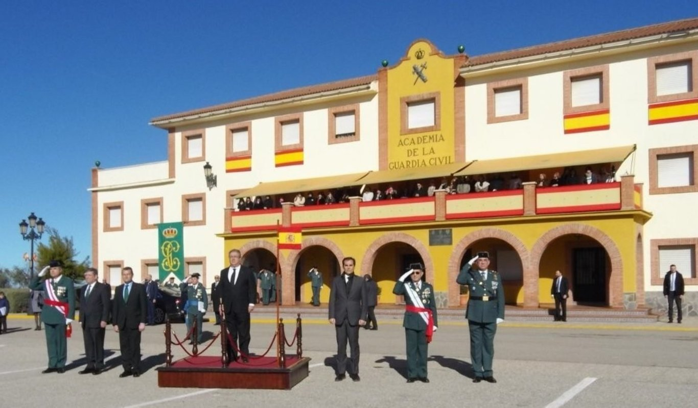 Academia de Guardias Civiles de Baeza.