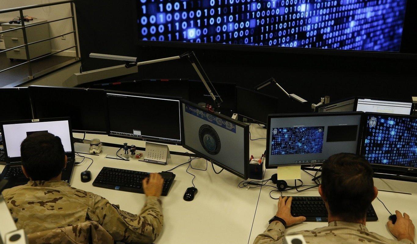 Militares del Mando Conjunto del Ciberespacio.