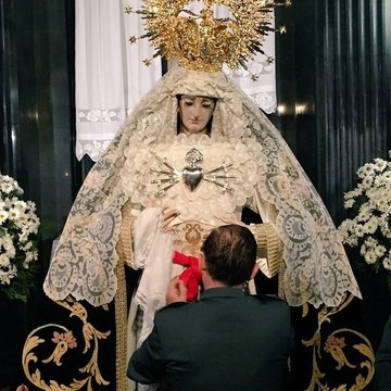 La Virgen de los Dolores, general de la Guardia Civil