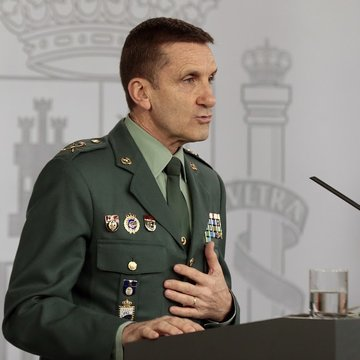 José Manuel Santiago, Jefe del Estado Mayor de la Guardia Civil