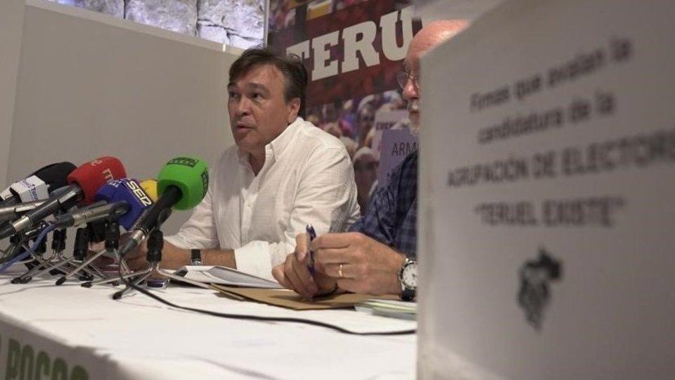 Tomas Guitarte, diputado de Teruel Existe.