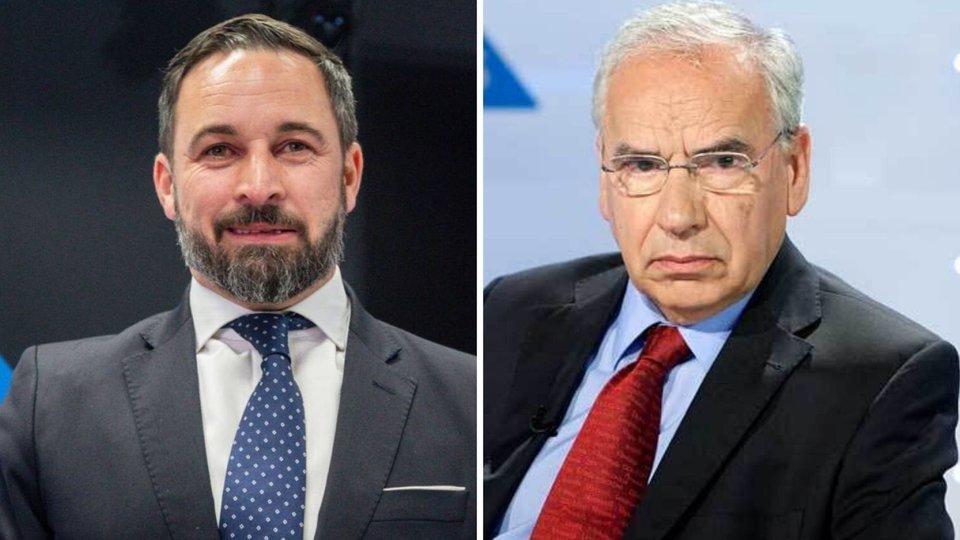 Santiago Abascal y Alfonso Guerra