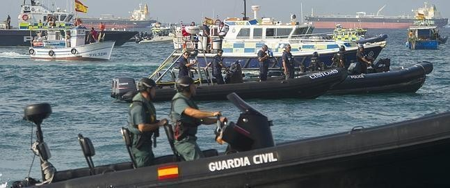 La Guardia Civil incorpora nueve lanchas ultrarrápidas