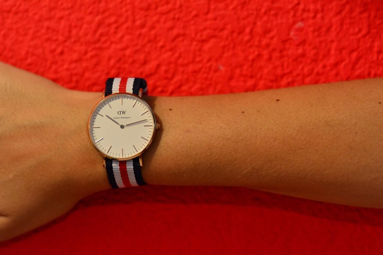 Modelo Classic Cambridge de Daniel Wellington.