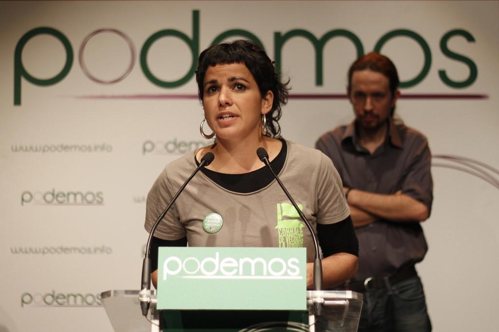 Teresa Rodríguez imitará el modelo de Teruel Existe para llevar Andalucía al Congreso de los Diputados