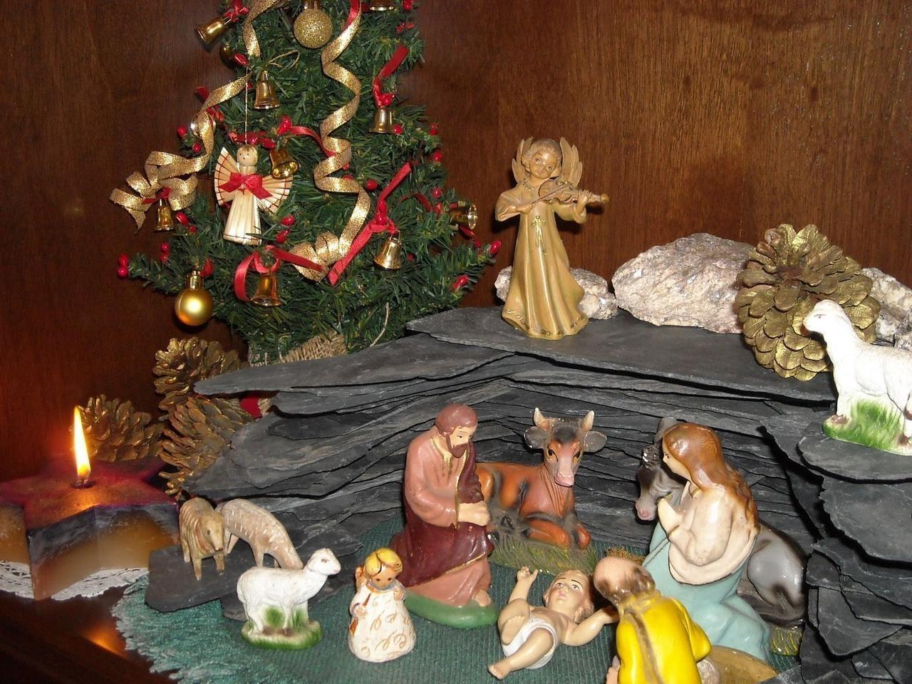Árbol de Navidad o Belén?