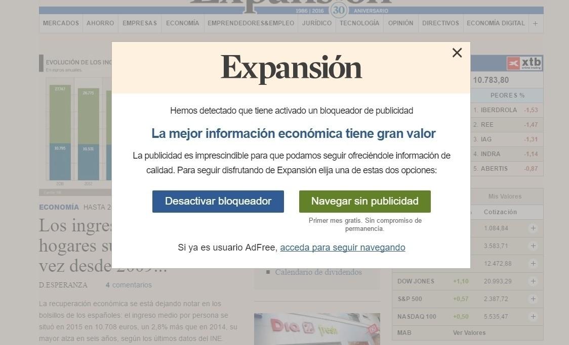 """Expansión recibe una carta de protesta del Instituto de la Mujer por un """"reportaje machista"""""""