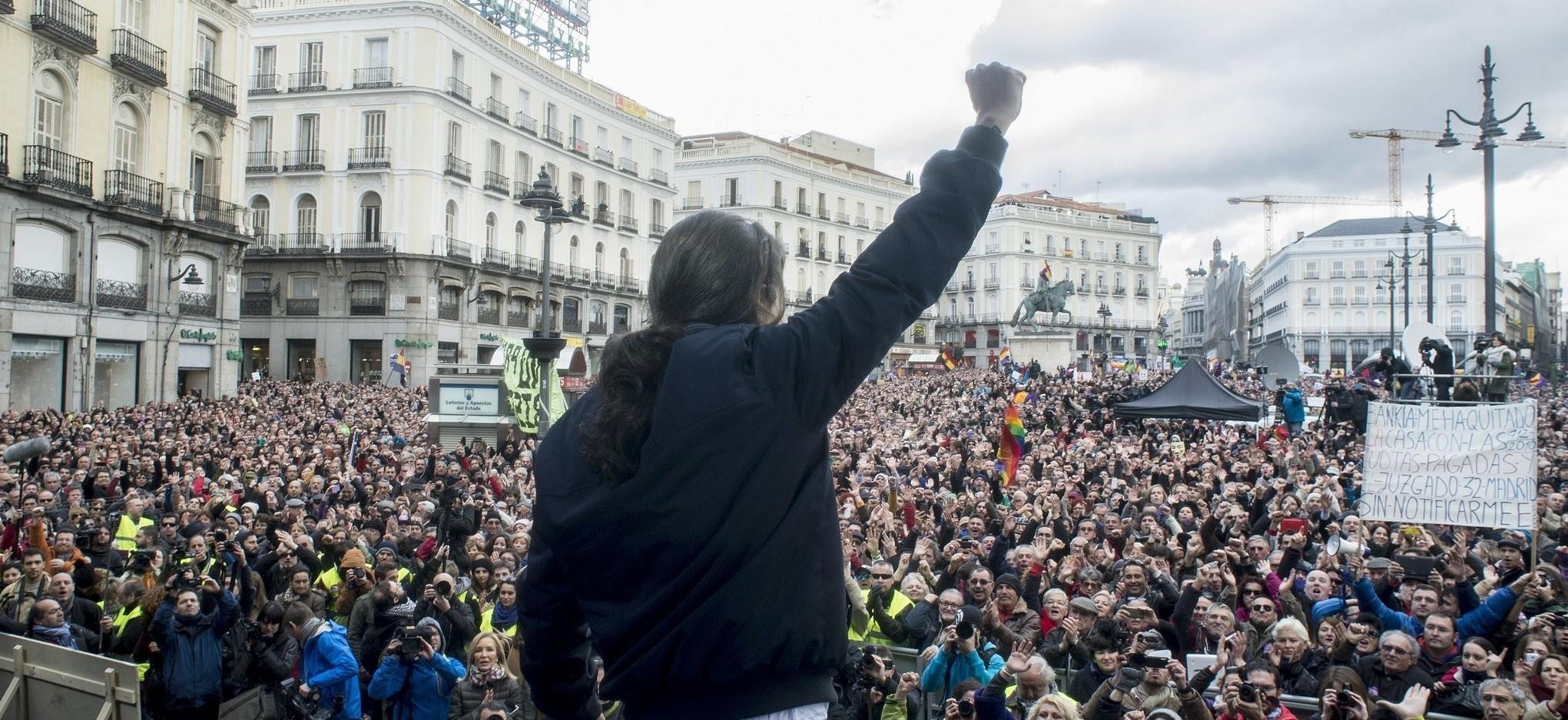 Los inscritos empiezan a borrarse de Podemos