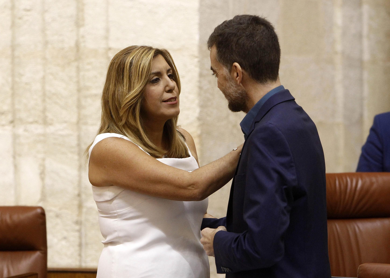 Susana Díaz descarta incluir a Podemos en el próximo gobierno de Andalucía