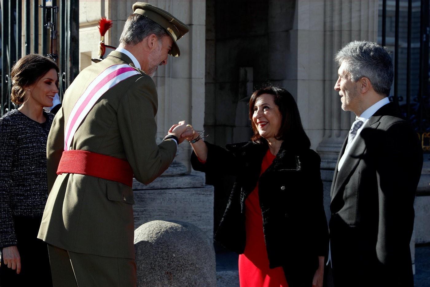 margarita robles presume pascua militar inversión armamento