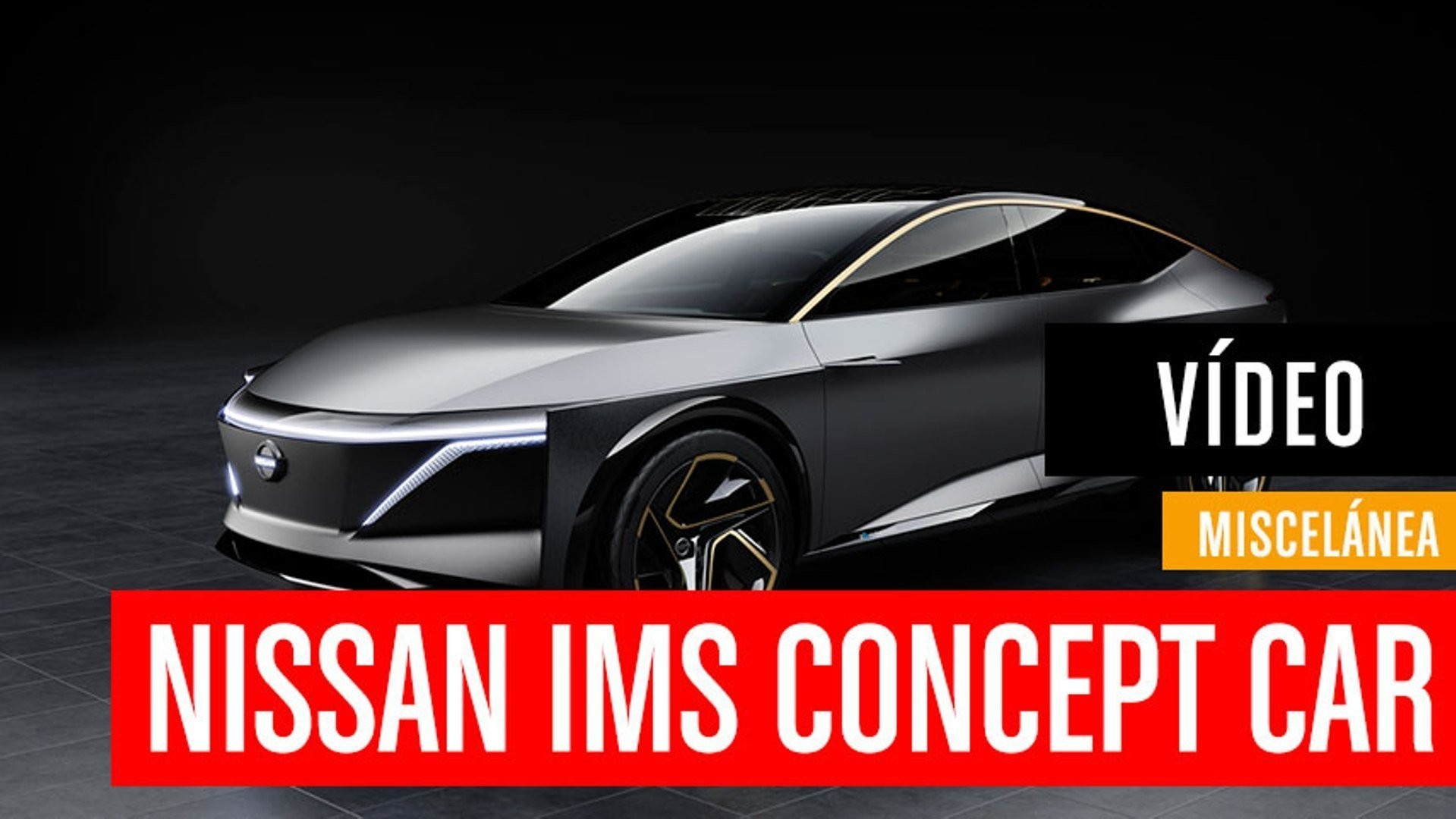 Nissan IMs Concept Car