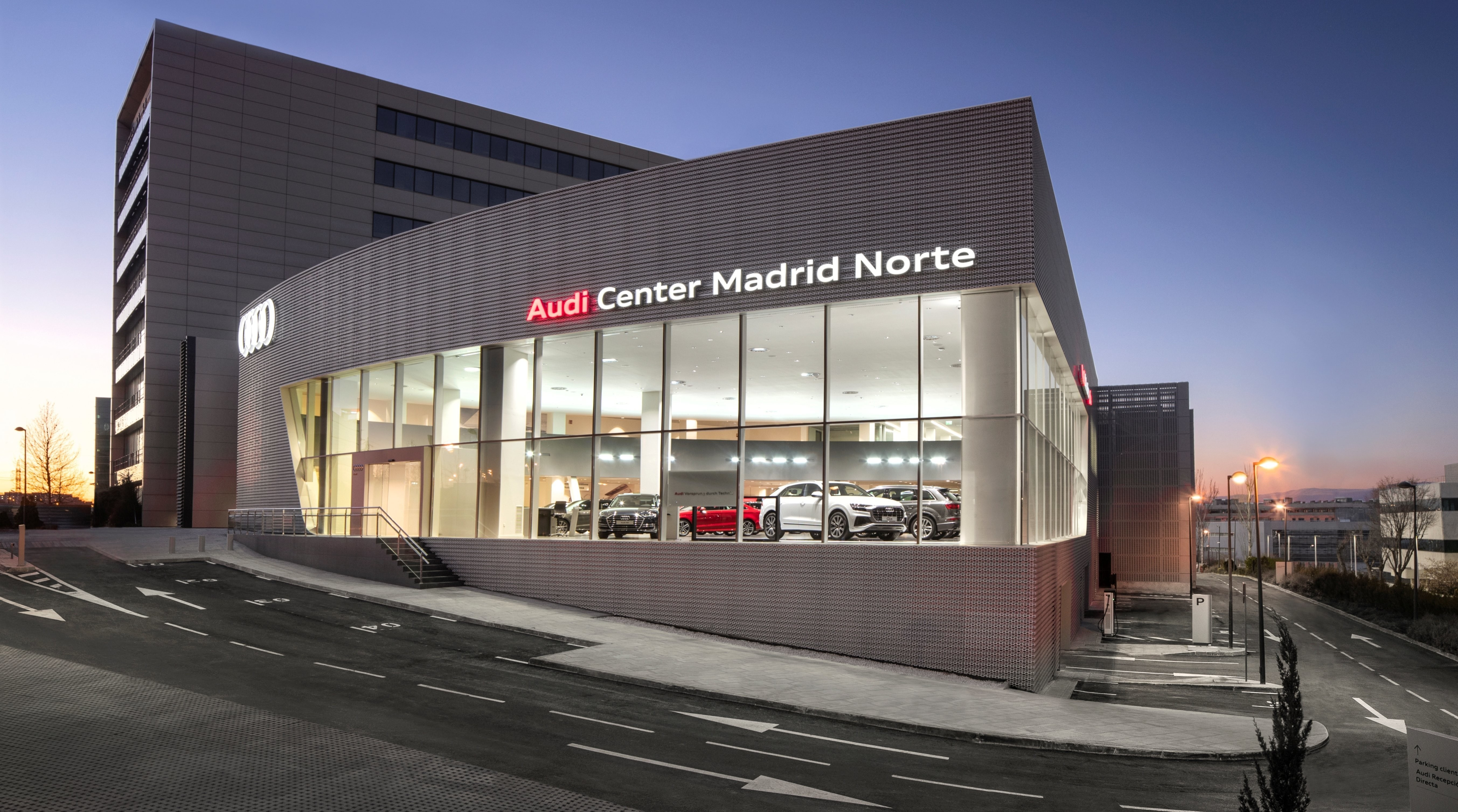 Audi Center Madrid Norte: altamente tecnológico