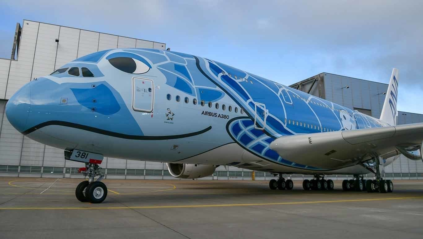 Neumáticos Michelin para los Airbus A380 de All Nippon Airways: neumáticos de altos vuelos