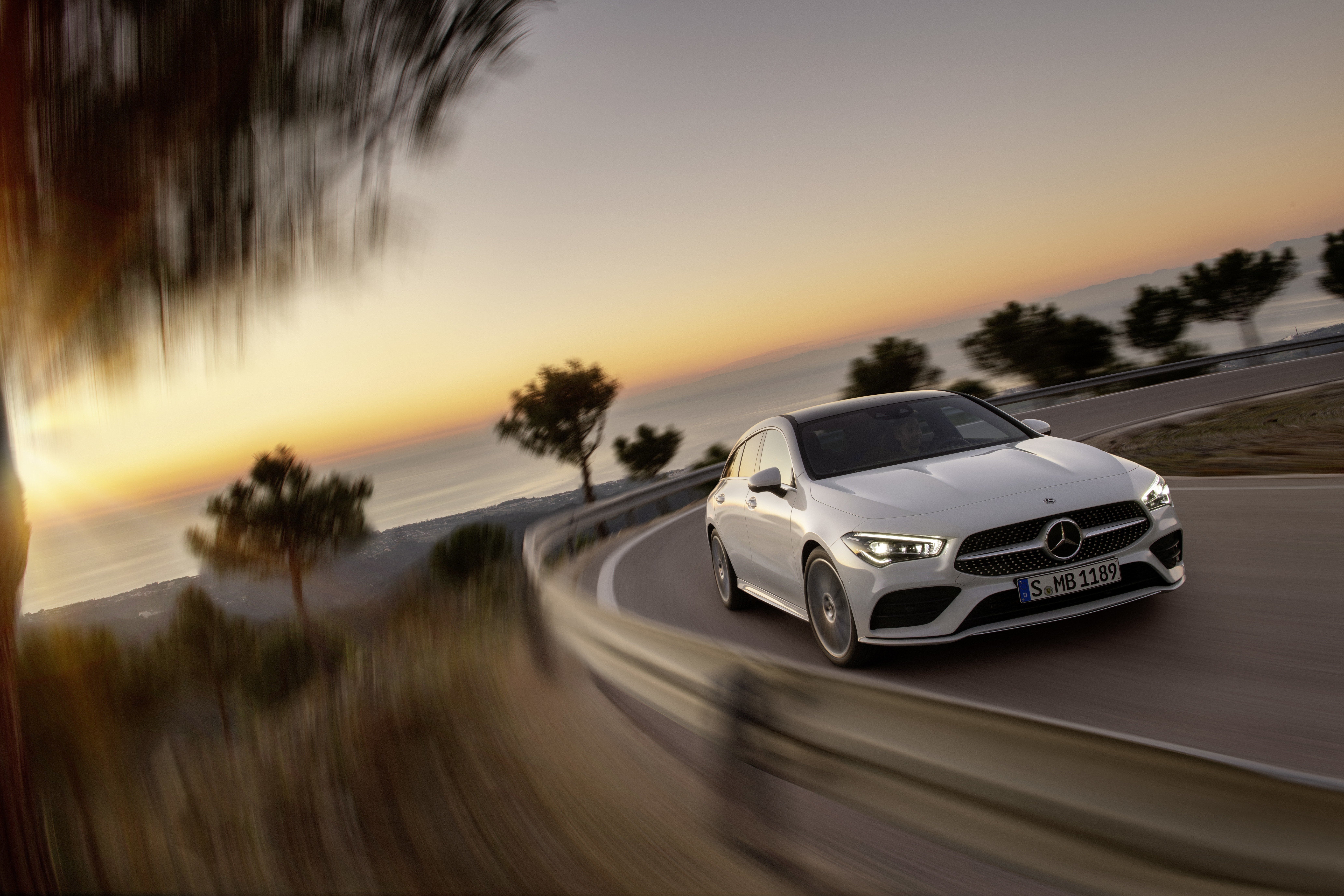 Mercedes-Benz CLA Shooting Brake, X118, 2019, AMG-Line, Exterieur, digitalweiß // Mercedes-Benz CLA Shooting Brake, X118, 2019, AMG-Line, Exterieur, digital white