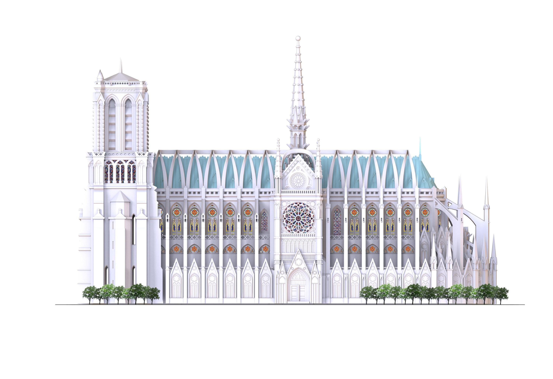 Un español, entre los seleccionados para restaurar la catedral de Notre Dame