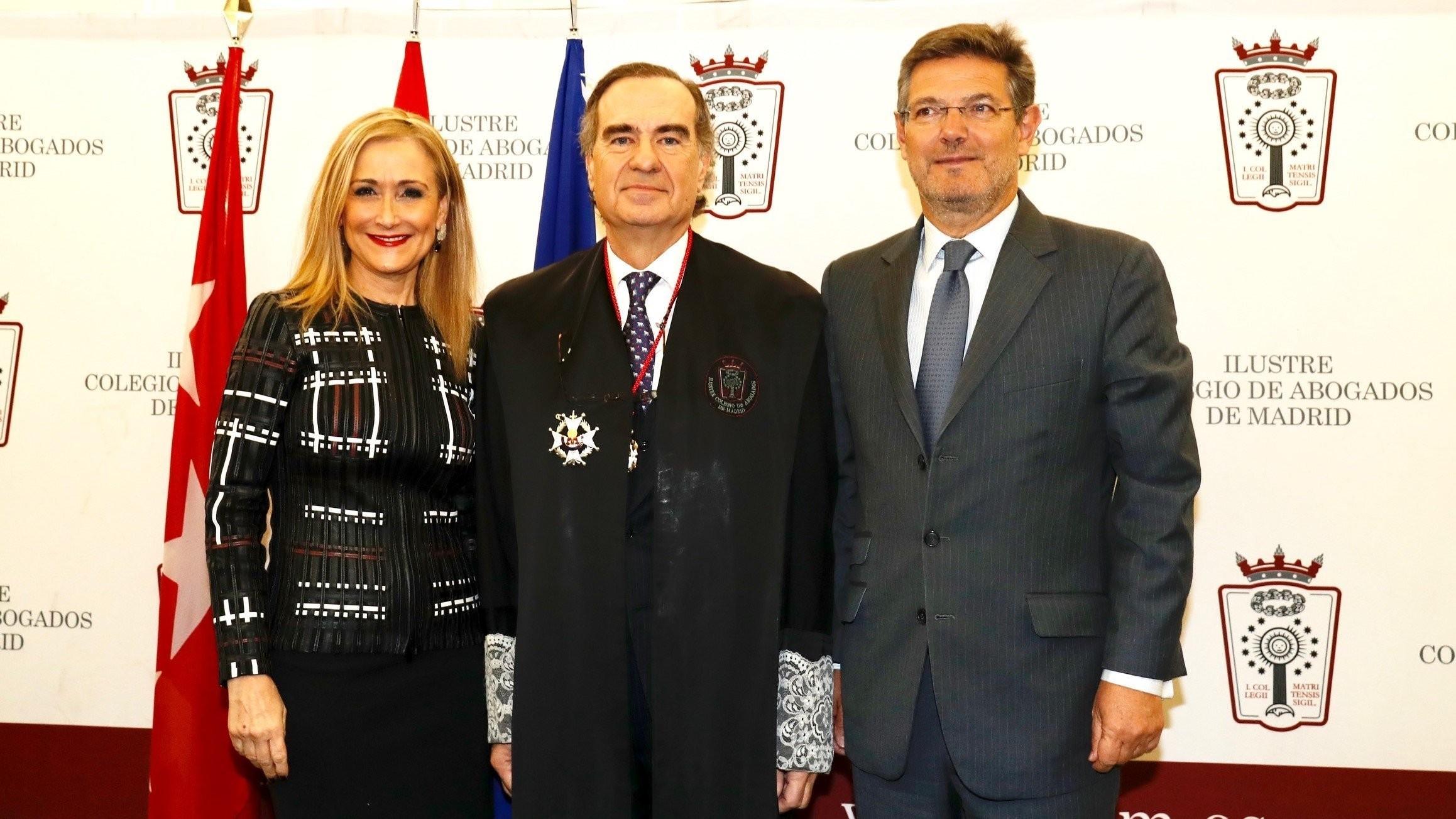 El decano de los abogados de Madrid se convierte en Barcelona en Josep Maria A. Puig