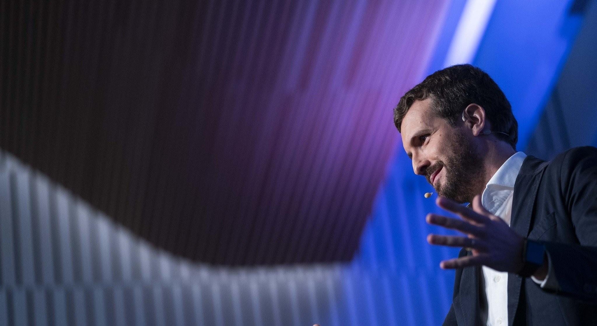 Pablo Casado no impondrá un presidente en el PP de Madrid