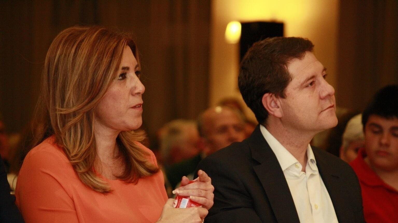 """El PSOE """"de siempre"""" sustituye a Susana Díaz por García-Page como alternativa a Pedro Sánchez"""