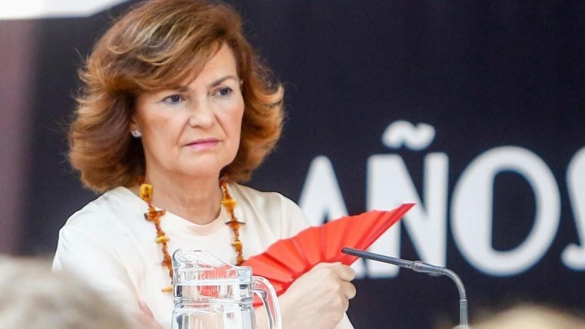 Carmen Calvo romperá su silencio el sábado: reaparecerá en un acto del PSOE en León