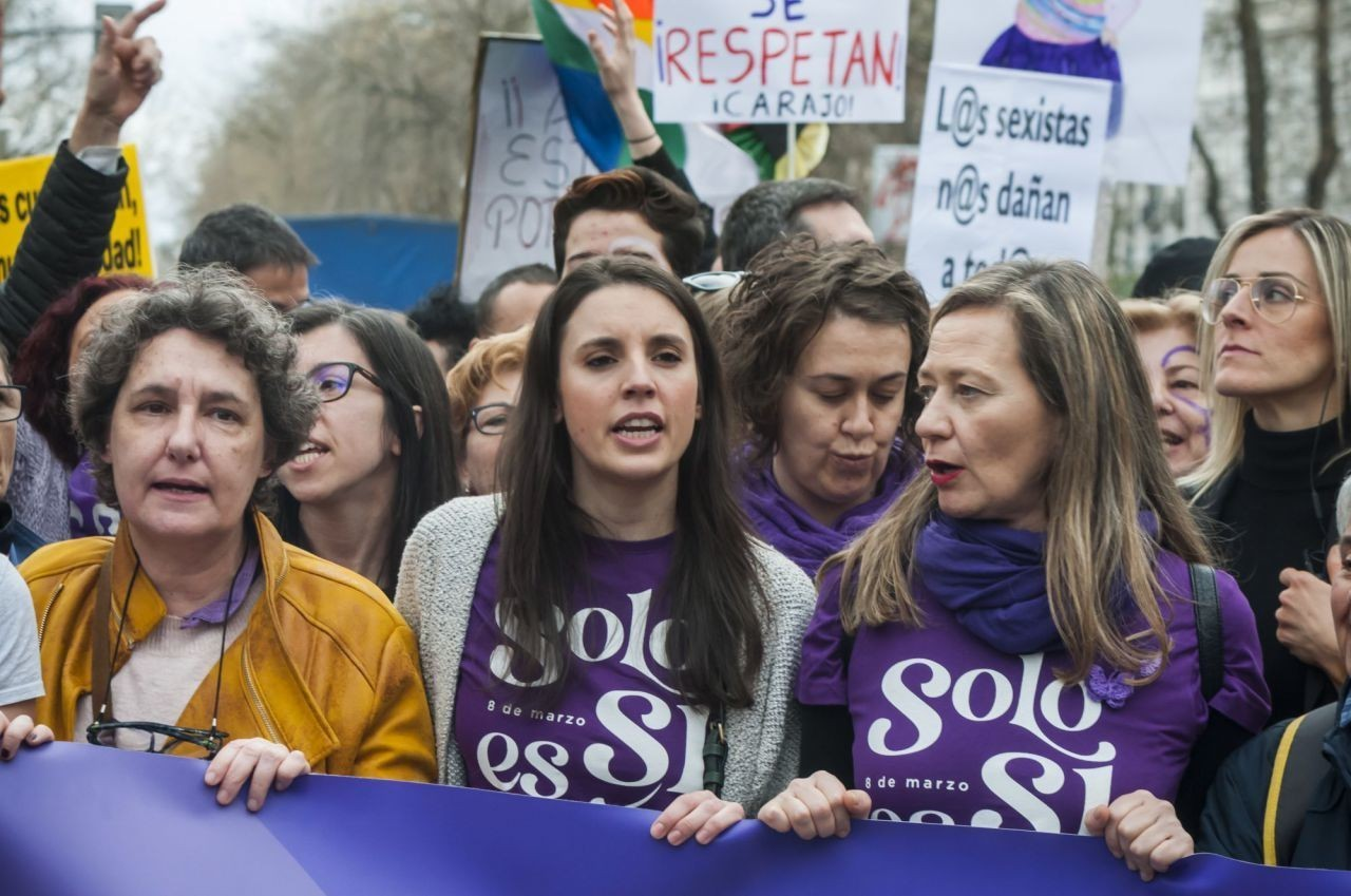 """Advertencia de Moncloa a Irene Montero: """"Si promueves otro 8-M no podremos asumir los muertos"""""""