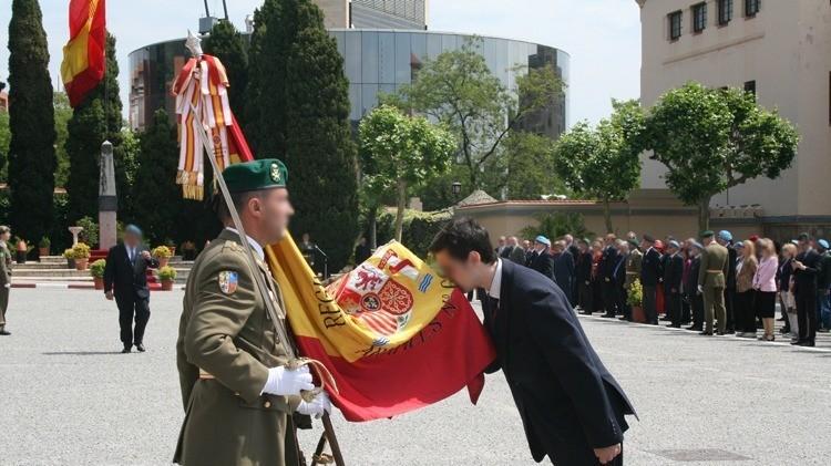 Una jura de bandera para civiles cada dos días a partir de septiembre