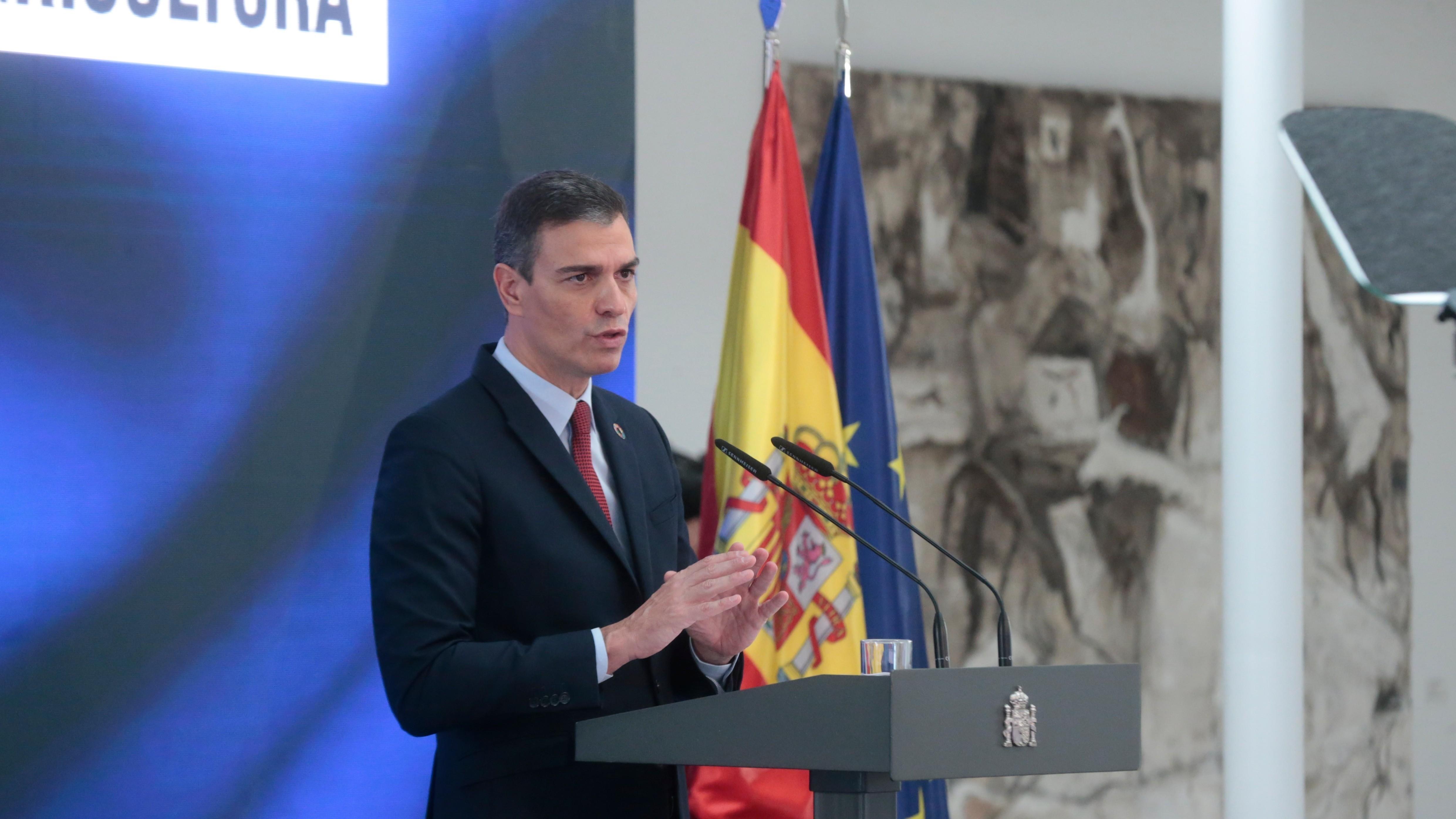 Pedro Sánchez anunciará el jueves que ha cumplido ya el 33% de su programa como presidente