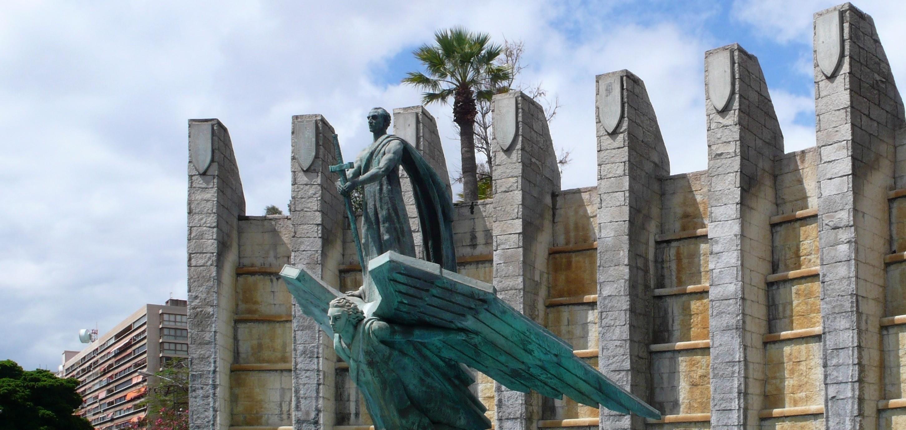 Un informe reclama proteger la última estatua de Franco en Santa Cruz de Tenerife